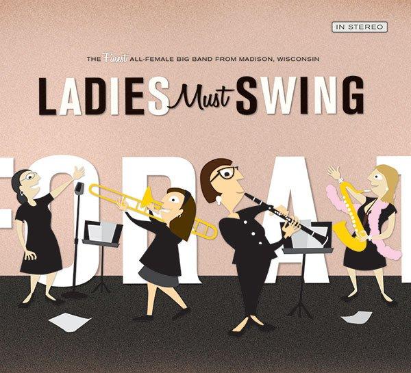 Ladies Must Swing CD,